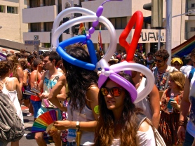 Gay Pride in Tel Aviv