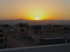 Sunset in Aqaba