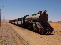 On the way to Wadi Rum