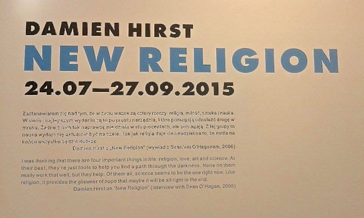 "Damien Hirst ""New Religion"""