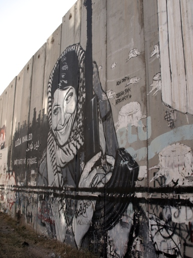 separation wall in Betlehem