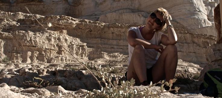 In Israel at the Negev desert