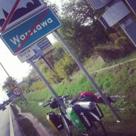 Leaving Warsaw (day 1)