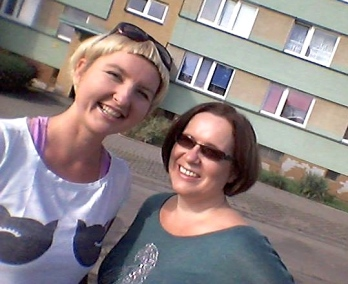 With Beata in Czestochowa