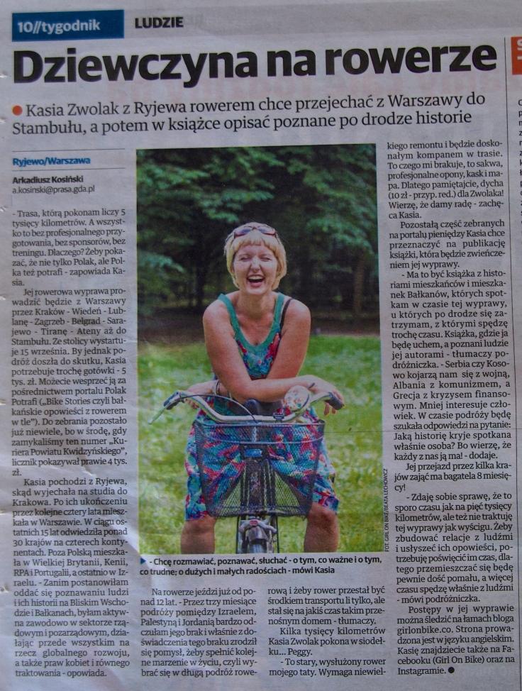 Kurier Powiatu Kwidzyńskiego, 28 September 2015, p. 10