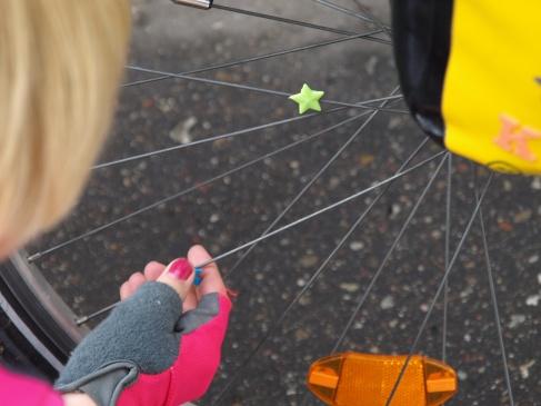Installing star shaped spokey dokey (day 1)