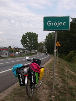 Peggy arrived to Grójec! (day 1)