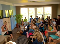 A meeting with the pupils of the school Tomek in Tomaszów Mazowiecki
