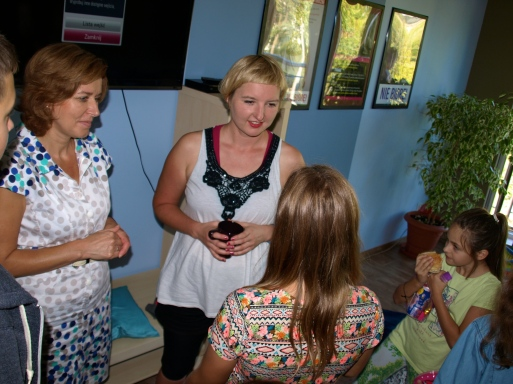 A meeting with the kids from the school Tomek in Tomaszów Mazowiecki (day 3)