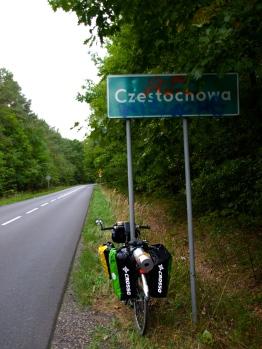 Peggy and Czestochowa!