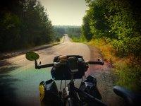 Peggy on the way from Czestochowa to Olkusz