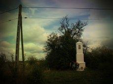 The tiny roadside shrine