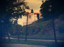 The castle in Pieskowa Skala