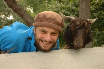 Rafal in Pakistan in 2007 (photo from Rafal's FB)