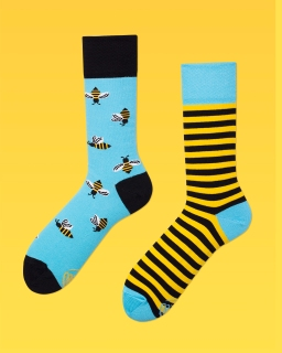 Bee socks from Rafal's offer at Plan Planeta