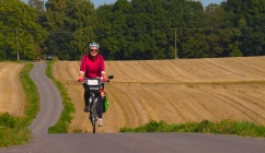 On a bike trip with Lucas
