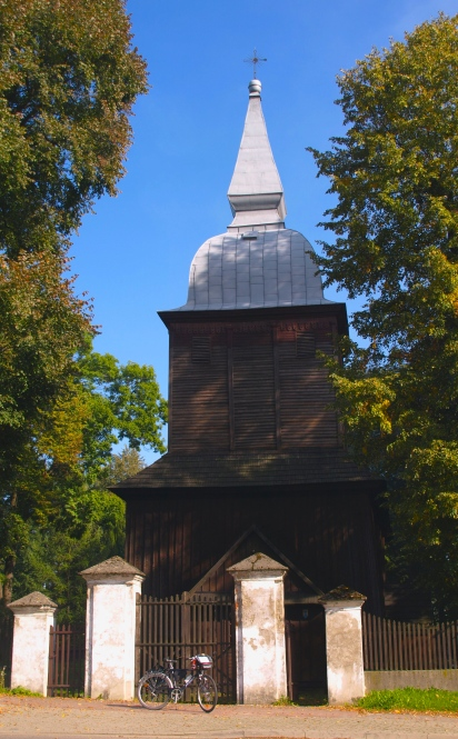 A 16th century wooden church in Polana Wielka