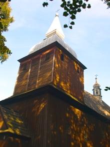 A 16th century wooden church in Polana Wielka
