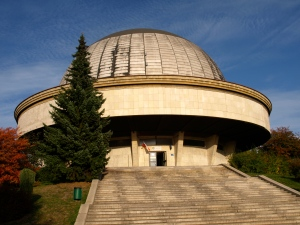Planetarium in the Silesian Park (one of two pictures I managed to take..)
