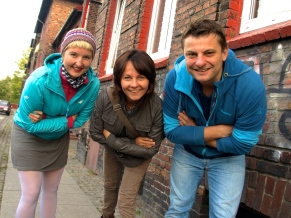 With Ania & Rafal - the picture taken by 5-years old Antek