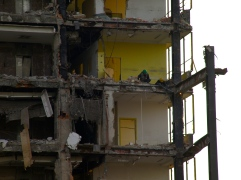 I have always been in love with destroyed buildings! And the buildings in the process of decay as well!