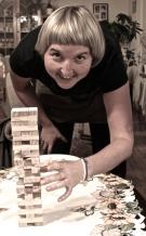 Myself playing jenga :)