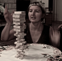 Myself playing jenga :)