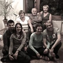 Among friends!