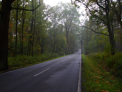 Leaving Miedzyrzecze, where I've spent the last weekend