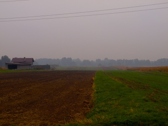 The most misty day since I started cycling