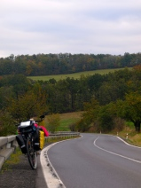 Moravia: On the way from Ostrava to Olomouc - well, it was steep, I'm tellin ya!