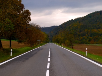 Moravia: On the way from Ostrava to Olomouc - the stop after 50 K