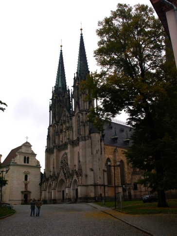 Olomouc - St Wenceslas' Cathedral