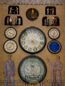 The astronomical clock in Olomouc
