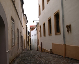 Olomouc with a bit of a ghost town spirit