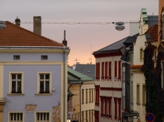 Sunset above Olomouc