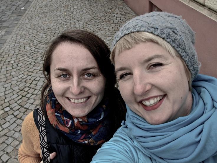 With Martina