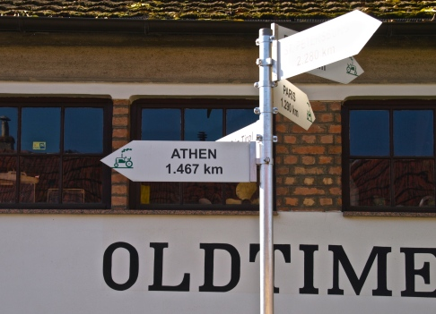 Athens - only 1467 Km to go!