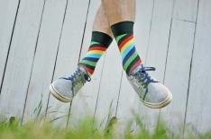 Spiral socks from Rafal's offer at Plan Planeta