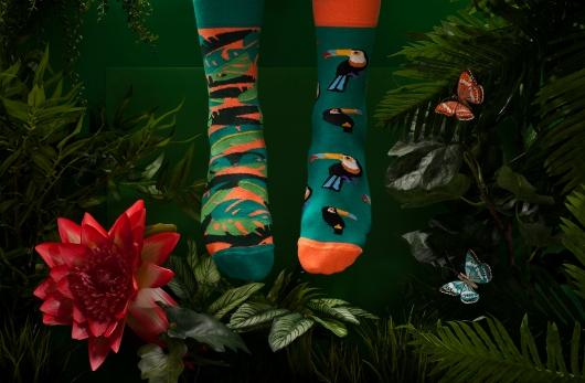 Toucan socks from Rafal's offer at Plan Planeta
