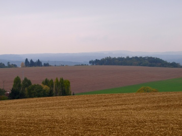 On the road from Olomouc to Brno