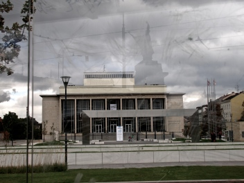 The national theater in Brno