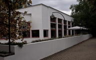 Cafe Zeman - another example of modernist architecture in Brno
