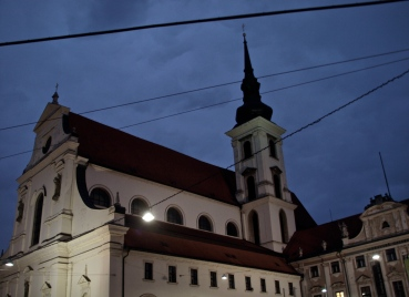 Brno's old town