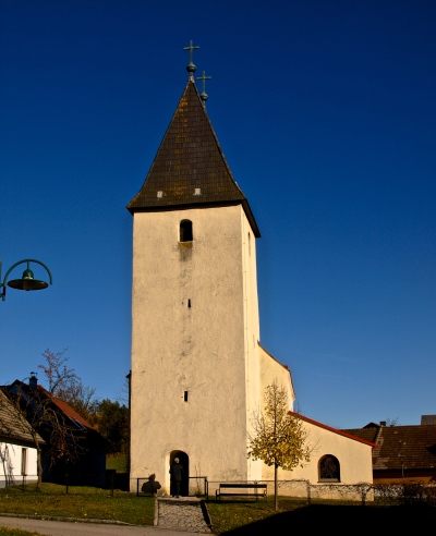 The 800-years old church in Obernondorf