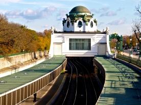 Metro station in Vienna