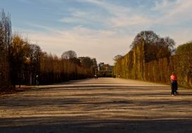 Visiting Schonbrunn