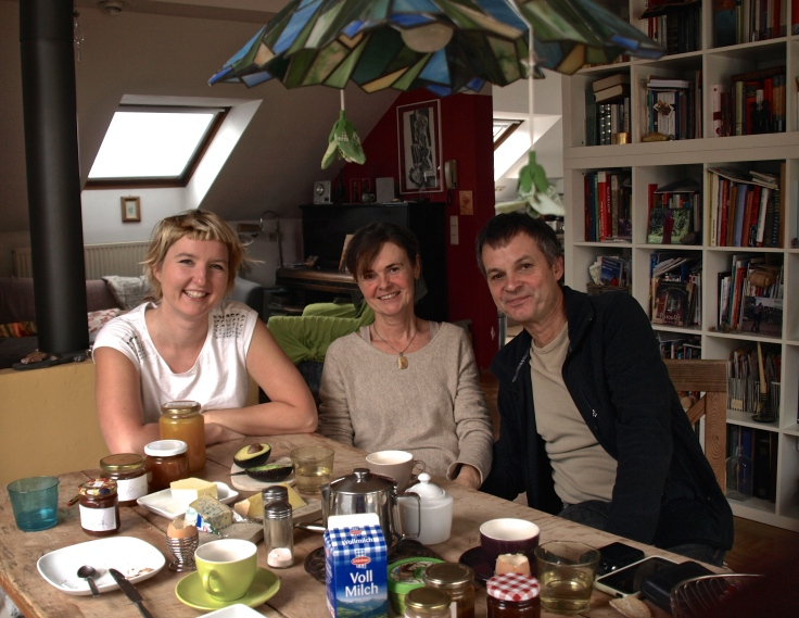 Breakfast with Luci and Christoph in Ternitz