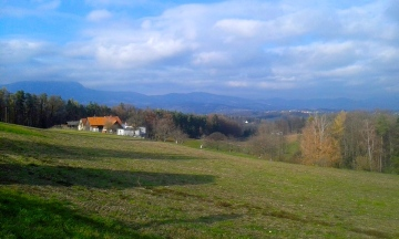 On the way from Hartberg to Graz
