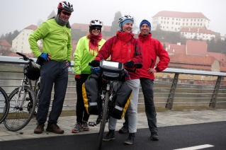 Simona, Danilo & Peter - such a llovely company to visit Ptuj with!